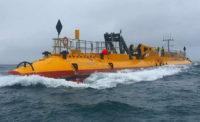 Плавающая приливная турбина