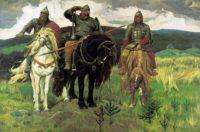 Богатыри. Картина Васнецова